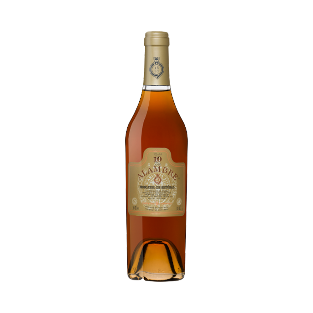 Alambre Moscatel 10 Years 500ml - Fortified Wine