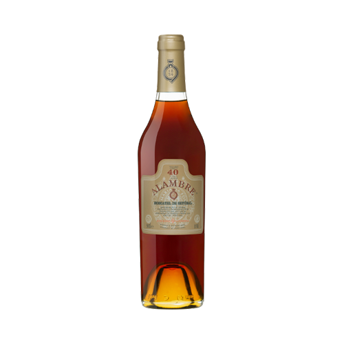Alambre Moscatel 40 Years 500ml - Fortified Wine