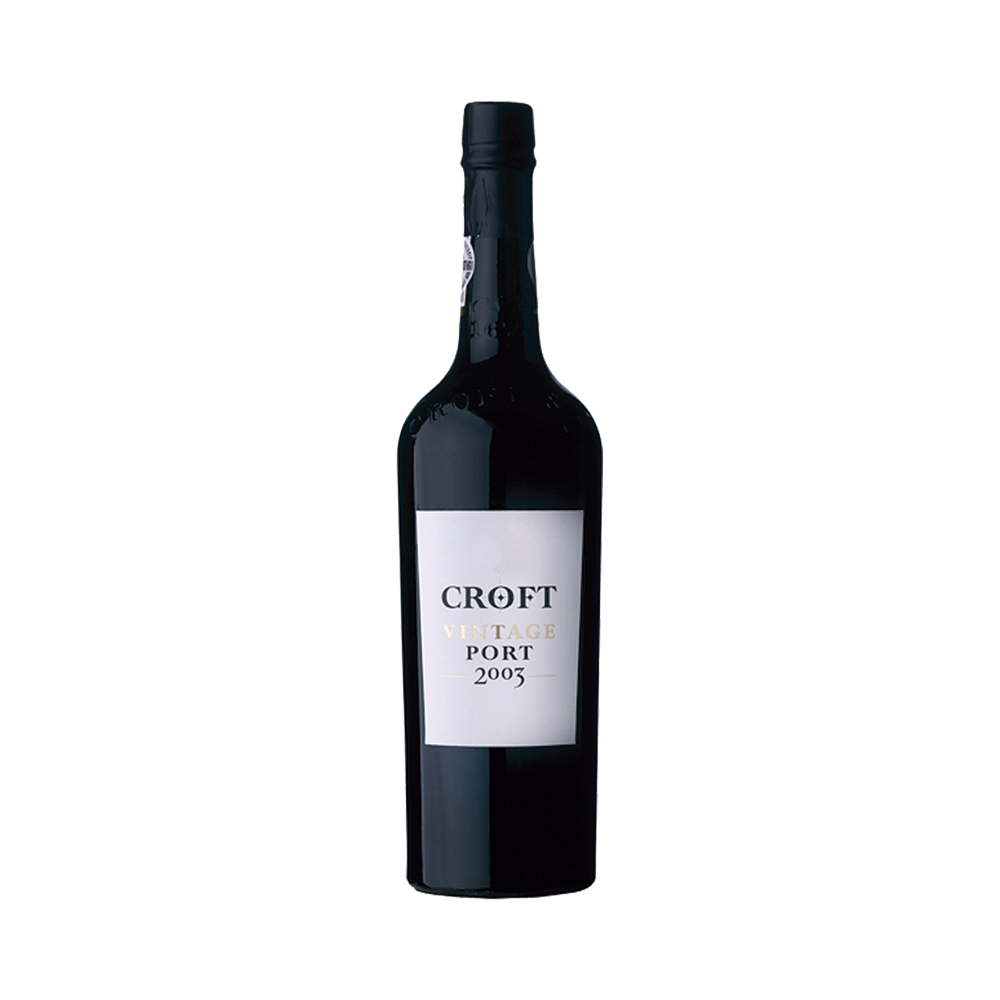 Port wine Croft Vintage 2003 - Fortified Wine