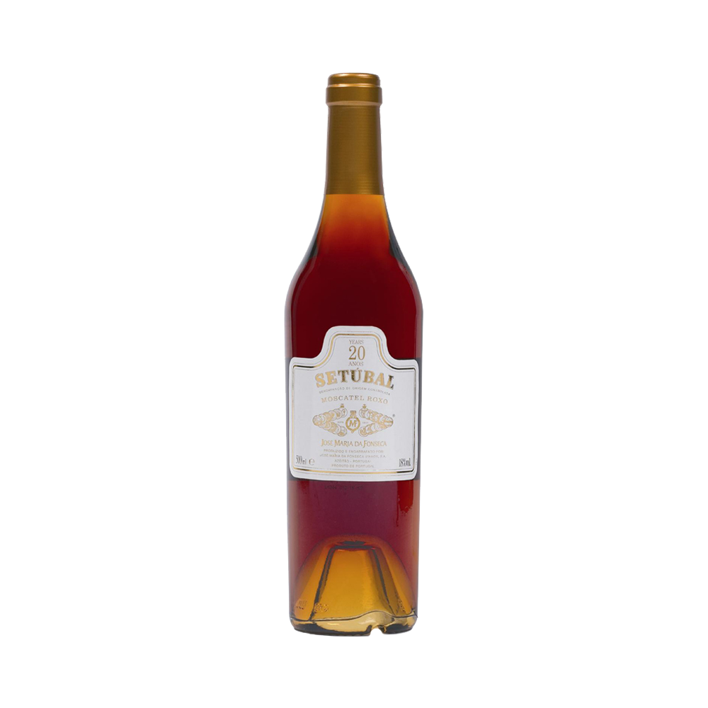 Moscatel Setubal Roxo JMF 20 Years 500ml - Fortified Wine