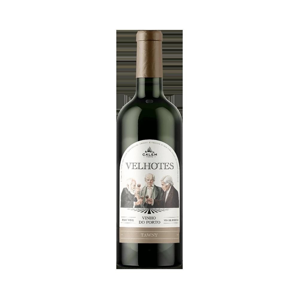 Vino de Oporto Calem Velhotes Tawny - Vino Fortificado
