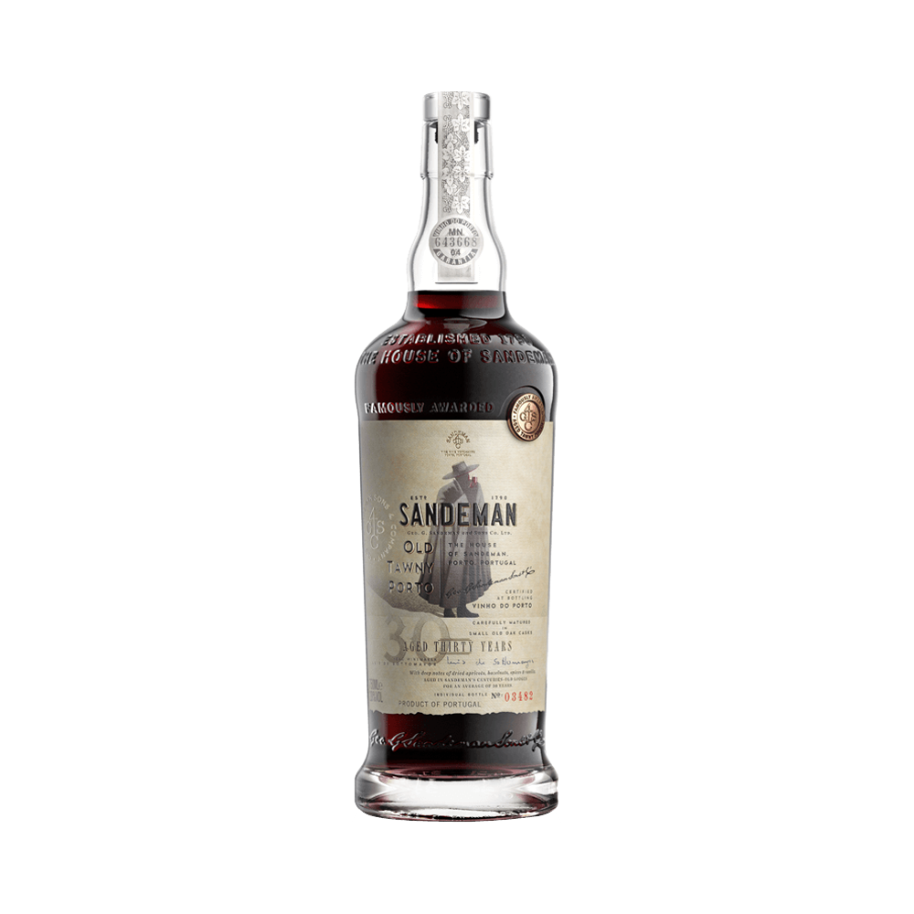 Port wine Sandeman 30 years 500ml - Fortified Wine