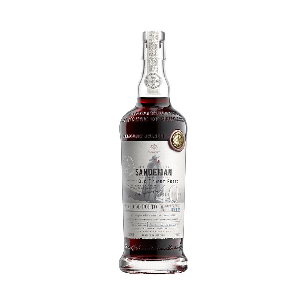 Port wine Sandeman 40 years 500ml - Fortified Wine