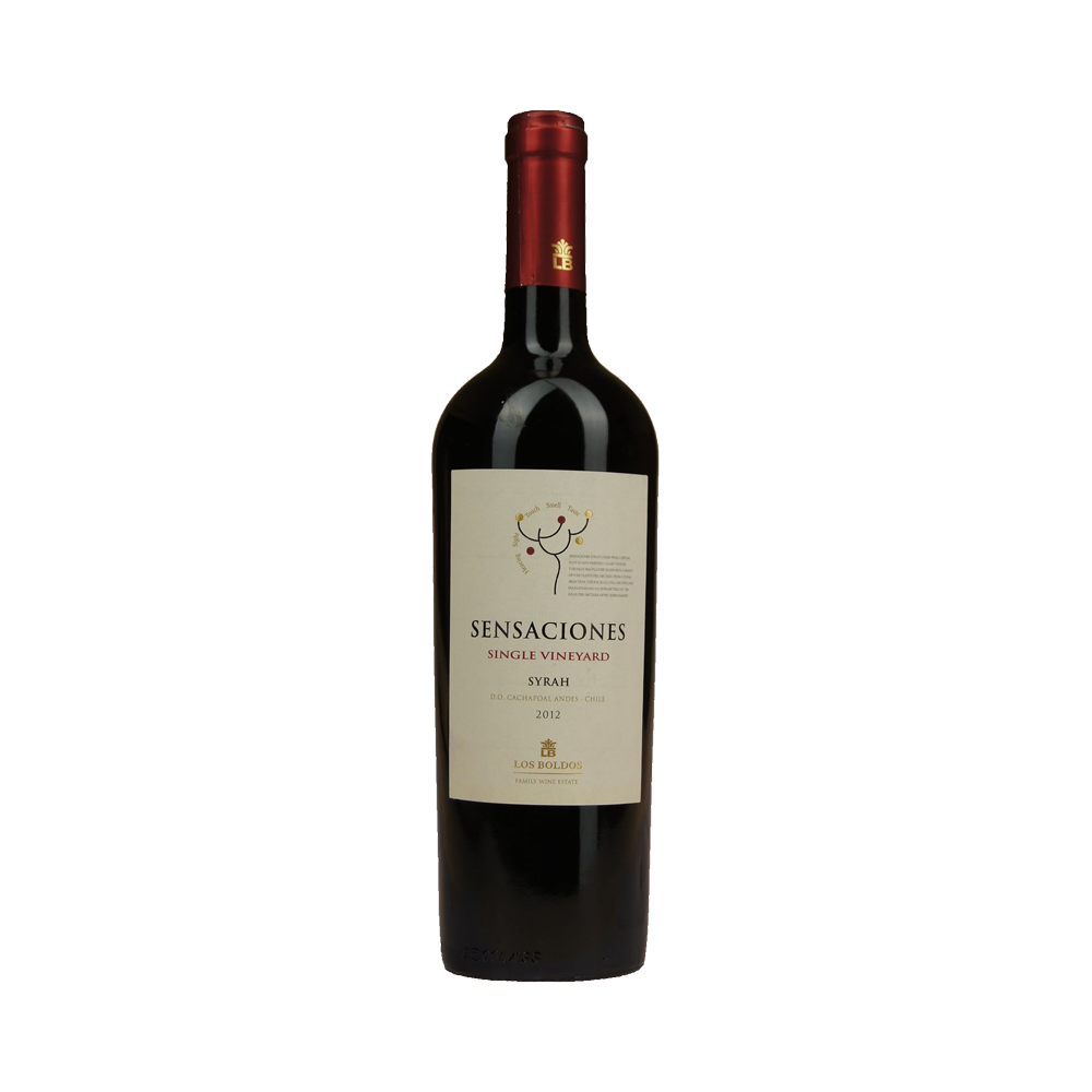 Los Boldos Sensaciones Shiraz - Red Wine