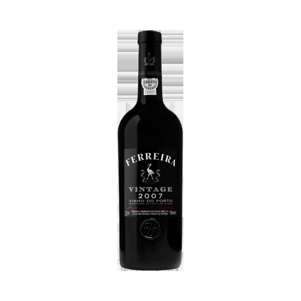 Port wijn Ferreira Vintage 2007 - Verrijkte Wijn