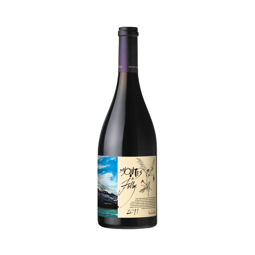 Montes Folly Syrah - Rotwein