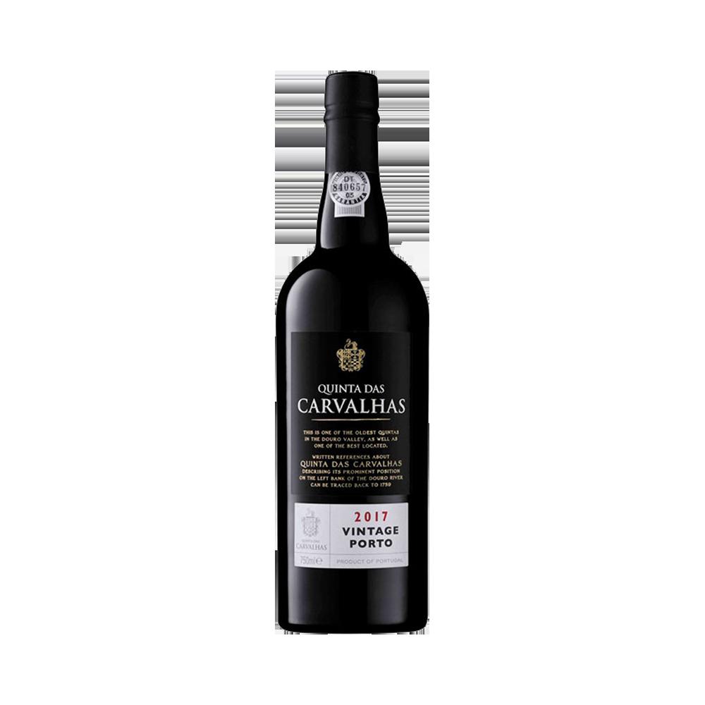 Vin de Porto Quinta das Carvalhas Vintage 2017 Vin Fortifié